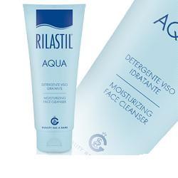 Rilastil Aqua Detergente Viso Idratante 200ml