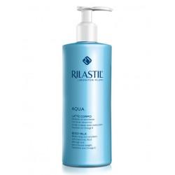 Rilastil Aqua Latte Corpo Idratante ed Emolliente 400ml