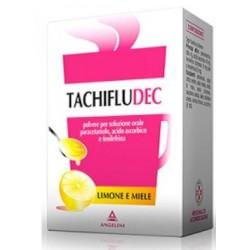 Tachifludec Granulato 16 Bustine Limone/Miele 600 mg + 40 mg + 10 mg