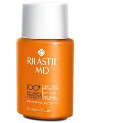 Rilastil MD 100+ 75 ml Fluido viso protezione solare ad ampio spettro