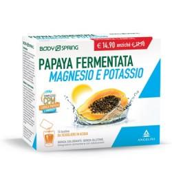 BODY SPRING PAPAYA FERMENTATA MAGNESIO POTASSIO 14 BUSTINE