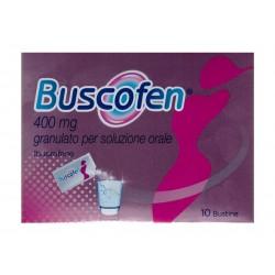 Buscofen Granulato 10 Buste 400 mg