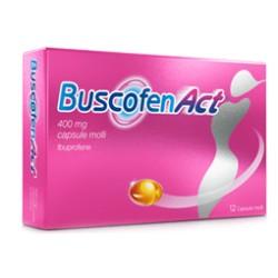 Buscofenact 12 Capsule Molli 400 mg