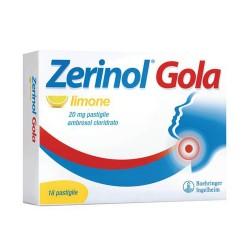 Zerinol Zola Limone 18 Pastiglie 20 mg