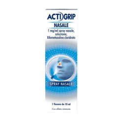 Johnson & Johnson Actifed Decongestionante 1 Mg/ml Spray Nasale, Soluzione