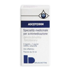 Bruschettini Ascotodin 3 Mg/ml + 1 Mg/ml Collirio, Soluzione