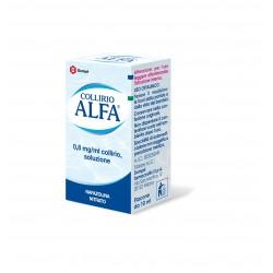 Dompe' Farmaceutici Collirio Alfa 0,8 Mg/ml Collirio, Soluzione