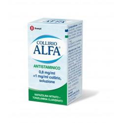 Dompe' Farmaceutici Collirio Alfa Antistaminico 0,8 Mg/ml + 1 Mg/ml Collirio, Soluzione