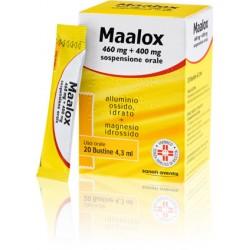 Maalox Sospensione Orale 20 Buste 460 mg + 400 mg