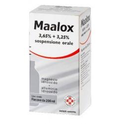 Maalox Sospensione Orale 200 ml 3,65% + 3,25%