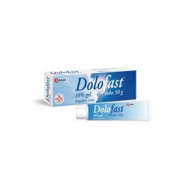 Dompe' Farmaceutici Dolofast 10% Gel Tubo 50 G