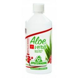 Specchiasol SUCCO ALOEVERA+ ALOE/MIRTILLO ROSSO 1 LITRO