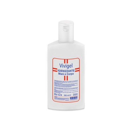 Vivipharma Vivigel Gel Igienizzante Mani e Corpo 200 ml