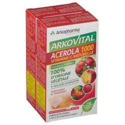 Arkopharma Arkovital Acerola 1000 Bipack 60 compresse masticabili