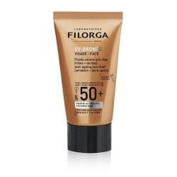 Filorga Uv Bronze Face 40 ml spf 50+ Fluido solare anti-età