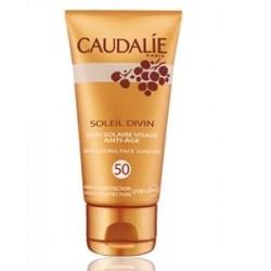 Caudalie Soleil Divin spf 50 Soin Visage Anti-age 40 ml Trattamento protezione solare viso spf 50