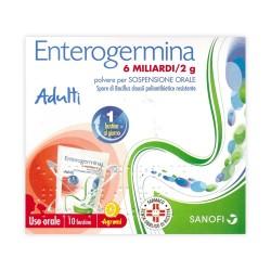 Enterogermina 10 Buste 6 Miliardi / 2 g