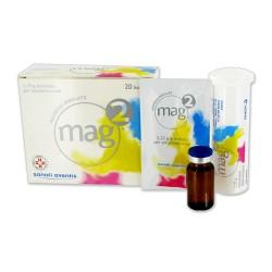 Mag 2 Compresse Effervescenti 20 cpr 2,25 g