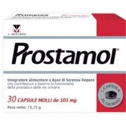 Prostamol 30 Capsule Molli Integratore Funzionalità Prostatica