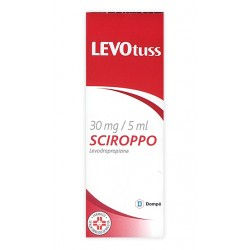 Levotuss Sciroppo Sedativo 200 ml 30 mg/5 ml