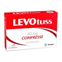 Levotus Tosse Sedativo 20 Compresse 60 mg