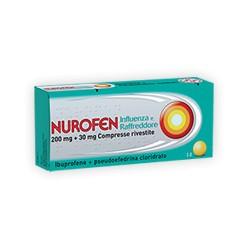 Nurofen Influenza E Raffreddore 12 Compresse Rivestite 200 mg + 30 mg