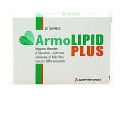 Armolipid Plus 20 compresse controllo del Colesterolo