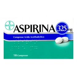Aspirina Antinfluenzale 10 Compresse 325 mg