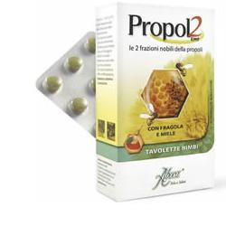Aboca Propol2 Emf Fragola Miele 45 Tavolette