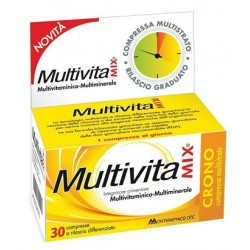 Multivitamix Crono 30 Compresse Integratore Multivitaminico