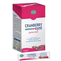 Esi Cranberry Cyst Pocket Drink 16 Bustine Integratore Benessere Vie Urinarie