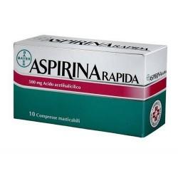 Aspirina Rapida 10 Compresse Masticabili 500 mg