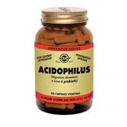 Solgar Acidophilus 50 capsule vegetali Integratore probiotici