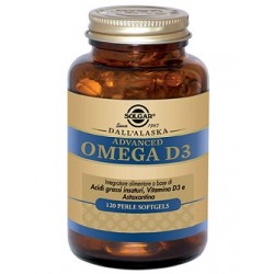 Solgar Advanced Omega D3 120 perle softgels