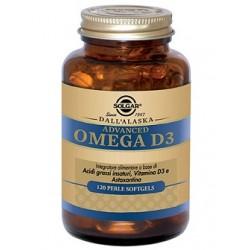 Solgar Advanced Omega D3 120 perle softgels