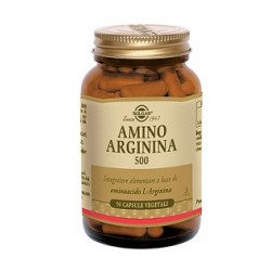 Solgar Amino Arginina 500 mg 50 capsule vegetali