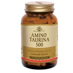 Solgar Amino Taurina 500 mg 50 capsule vegetali Integratore multifunzionale
