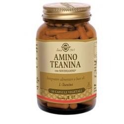 Solgar Amino Teanina 30 capsule vegetali Integratore concentrazione e rilassamento