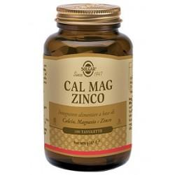 Solgar Cal Mag Zinco 100 tavolette Integratore multiminerale
