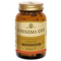 Solgar Coenzima Q10 30 capsule Integratore antiossidante