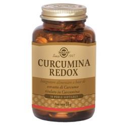 Solgar Curcumina Redox 30 perle softgels Integratore antiossidante