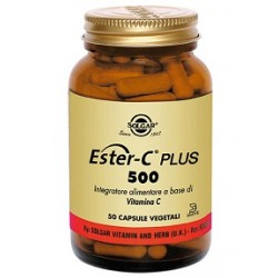 Solgar Ester C Plus 500 mg 50 capsule vegetali Integratore antiossidante