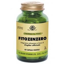 Solgar Fitozenzero 60 capsule vegetali Integratore tonico anti-ossidante