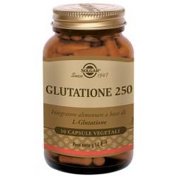 Solgar Glutatione 250 mg 30 capsule vegetali Integratore antiossidante