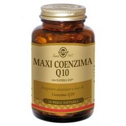 Solgar Maxi Conzima Q10 30 perle Integratore antiossidante