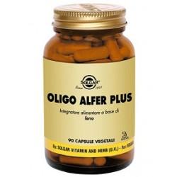Solgar Oligo Alfer Plus 90 capsule vegetali Integratore di ferro