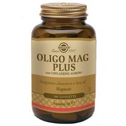Solgar Oligo Mag Plus 100 tavolette Integratore di magnesio