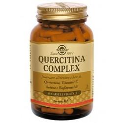 Solgar Quercitina Complex 50 capsule vegetali Integratore antiossidante