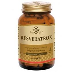 Solgar Resveratrox 60 capsule Integratore antiossidante multifunzionale
