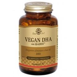 Solgar Vegan DHA 30 perle vegetali softgels Integratore di Omega 3 di origine vegetale
